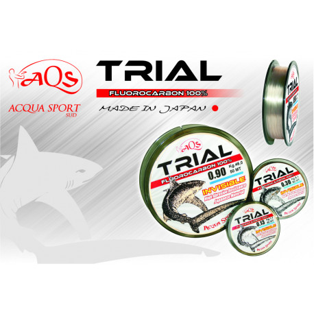 Trial Fluorocarbon 100x100 50mt