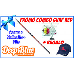 Combo Trabucco Surf Red