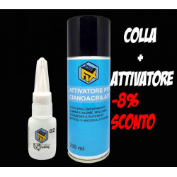 Colla + Attivatore Speed Fix